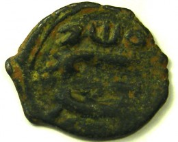 ANCIENT BYZANTINE L1, CONSTANS II FOLLIS COIN AC334