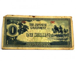 JAPANESE INVASION MONEY 1943 FOR AUSTRALIA   T 182