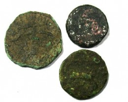 PARCEL OF ANCIENT COINS  T 43
