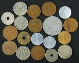 PARCEL  19 WORLD COINS  T 327