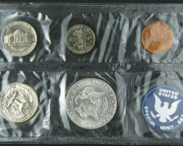 USA 1965 COIN SET IN PLASTIC ENVELOPE   T 329