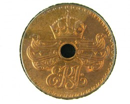 PAPUA  NEW GUINEA  1936 UNCIRCULATED PENNY  T 322