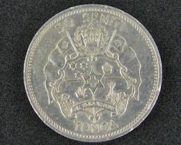 TONGA 50 CENTI  1967    T 418