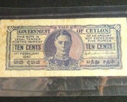 CEYLON 1842 WAR YEARS  T 422