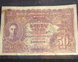 BRITISH MALAYA  1941  T 427