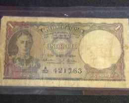 CEYLON WAR YEARS 1944 T439