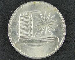 MALAYSIA COIN L1, 1971 ONE DOLLAR COIN T1033