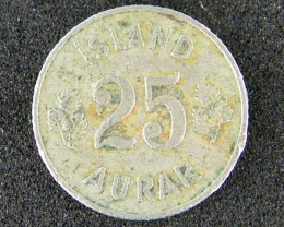 ISLAND LOT 1 , TWENTY-FIVE CENT 1961 COIN T529