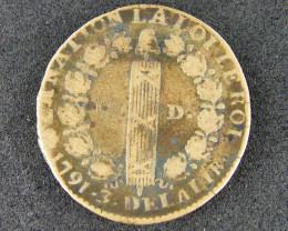 FRANCE LOT 1, 1791 DELAIRLIR COIN T591