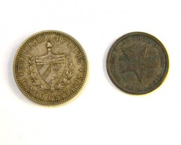 TWO  COINS  OF CUBA  OP 262