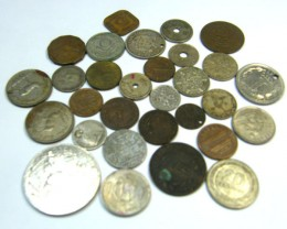 WORLD COINS LOT 30,  WORLD COINS T630