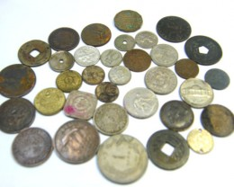 WORLD COINS LOT 34,  WORLD COINS T631