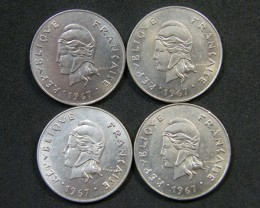 French New Caledonia Coins