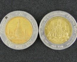 THAILAND LOT 2, THAILAND BI-METAL COIN T651
