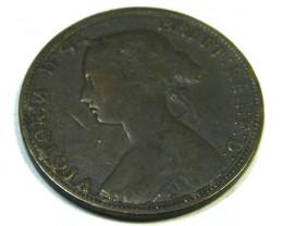 NOVA SCOTIA LOT 1, 1864 ONE CENT COIN T687