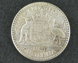 AUSTRALIA LOT 1, ONE SHILLING COIN 500   SILVER T745
