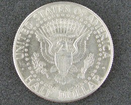 USA LOT 1, HALF DOLLAR 1989 COIN T755