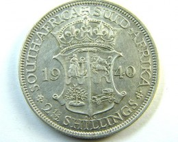 SOUTH AFRICA   COIN   2 1/2 SHILLING  1940    OP331