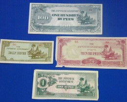 JAPANESE OCCUPATION NOTES  OF INDIA ?   T 858