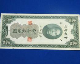 PRE COMMUNIST NOTE   SHANGHAI 1930      T 864