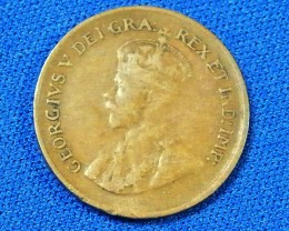 CANADA L1, 1936 ONE CENT COIN T892