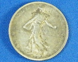 FRANCE L1, ONE FRANCE 1916 COIN T936