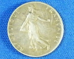 FRANCE L1, 1918 FIFTY CENTIMES COIN T947
