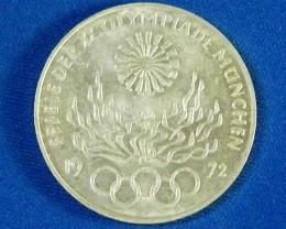 HOLLAND L1, 1972 TEN DEUTSCHEMARK COIN T958