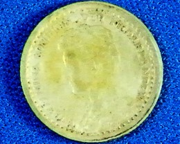DUTCH L1, 1918 TEN CENT COIN T960