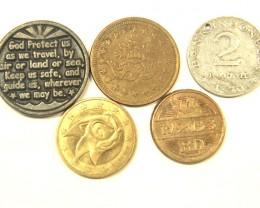 TOKINS L5, VARIOUS TOKIN COINS T964
