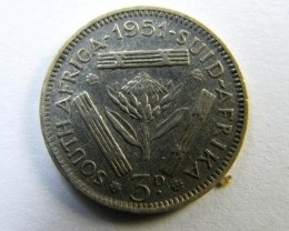 SOUTH AFRICA COIN    1954  OP 352