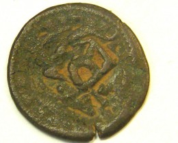 ANCIENT SPANISH L1, ACUNA FIRST CENTUARY COIN T971