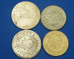 TOKIN L4, FINLAND, SOUTH AUST, CALIFORNIA, MONETA COINS T987