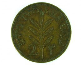 PALESTINE COIN L1, TWO MILS 1927 T1025