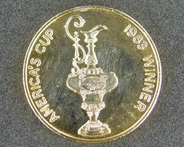 TOKEN COIN L1, AMERICA'S CUP 1983 WINNER (AUST) T1041