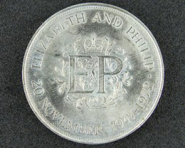 UNITED KINGDOM COIN L1, ELIZABETH & PHILLIP T1046
