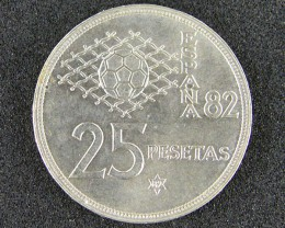 SPAIN COIN L1, SPANISH 1980 EXPO COIN T1060