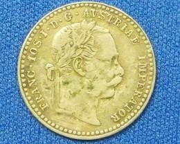 AUSTRIA COIN L1, 1869 TEN KREUZER COIN T1101