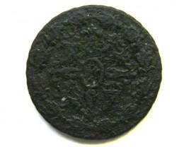 SPAIN COIN L1, 1780 FOUR MARAVEDIS COIN T1129