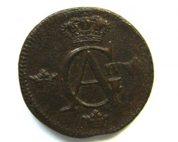 SWEDEN COIN L1, 1809 1/2 SKILLING COIN T1134