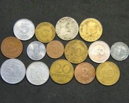 WORLD COINS L15, WORLD COINS T1163