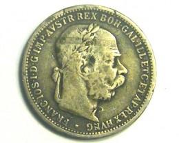AUSTRIA COIN L1, 1894 ONE KORONA T1185