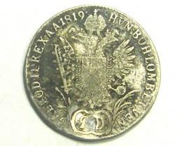 AUSTRIA COIN L1, 1819 FRANCISCVS I COIN T1198