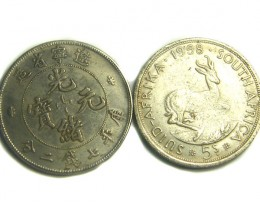 S. AFRICA & CHINA TOKEN L2, REPLICA TOKENS T1219