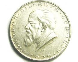 AUSTRIA COIN L1, 1929 TWO SCHILLING COIN T1224