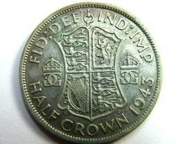 HALF CROWN 1943     OP380