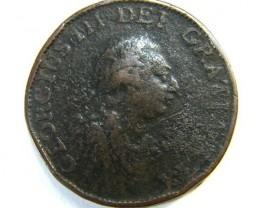 HALF PENNY 1799     OP381