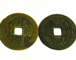WAR COINS TWO JAPAN COIN L2, JAPANESE COINS T1277
