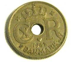 DENMARK COIN L1, 1931 10 ORE COIN T1282