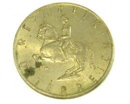AUSTRIA COIN L1, 1971 FIVE SCHILLING COIN T1312
